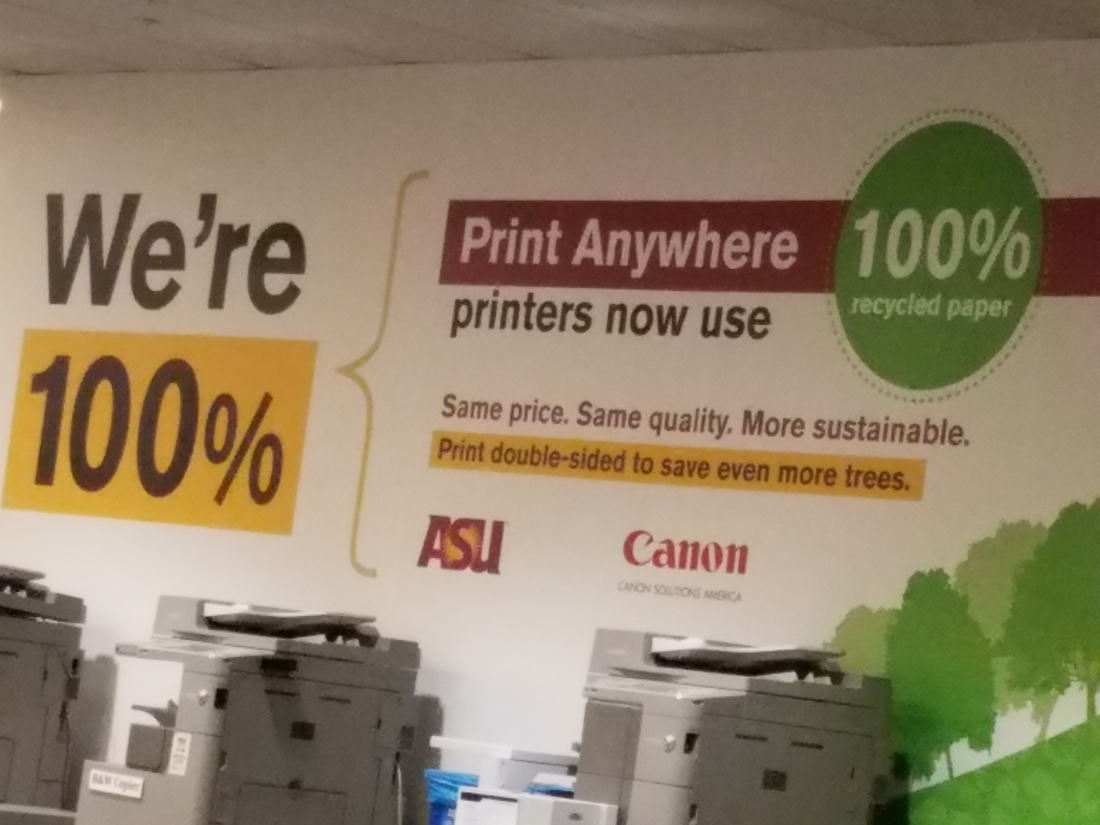 ASU sustainable