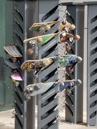 skateboard lock