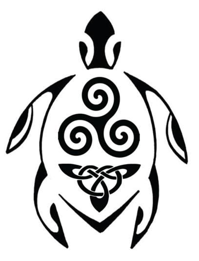 LO's Turtle Tattoo