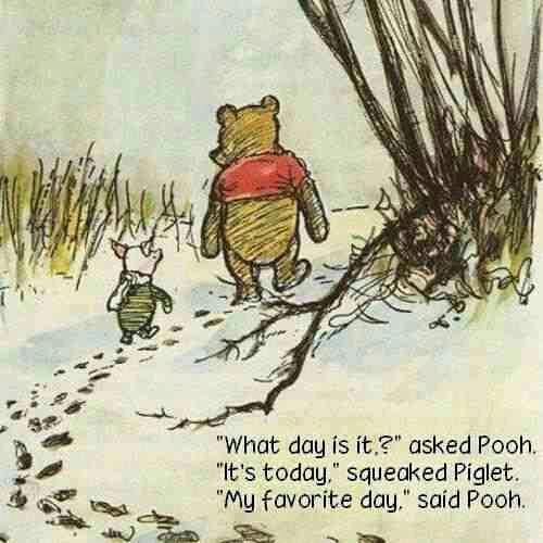 pooh's favorite day